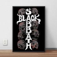 Quadro Decorativo Black Sabbath Premium