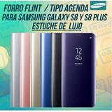Forro Samsung S8 Y S8 Plus Flint Tipo Agenda