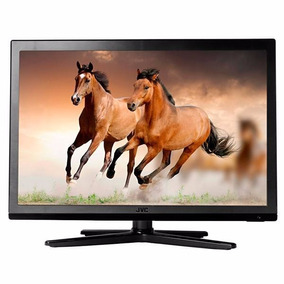 Tv Monitor Led De 22 Jvc Hd Hdmi Usb Com Conversor Digital