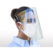 Protector Careta Facial Cubrebocas 10 Piezas De Fabrica