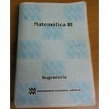 Matematica Iii (733) Universidad Nacional Abierta