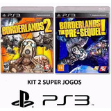 Borderlands 2 + The Pre Sequel - Midia Fisica Lacrado - Ps3