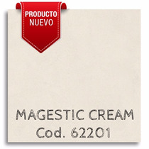 Porcelanato Esmaltado Magestic Cream 62x62 Cm - Mathome