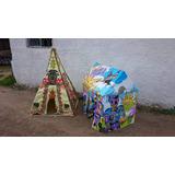 Casa Infantil Carpa Para Niños Castillo Plegable Aprobado Ce