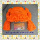Gorro Crochet Cabbage Patch Tejido A Mano Niñ@s Bebes