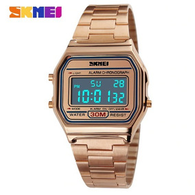 673ee624a1c Relogio Casio Gold Masculino - Relógios De Pulso no Mercado Livre Brasil