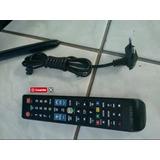 Controle Tv Samsung + Cabo De Energia