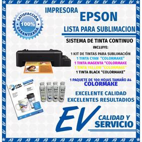 Kit Impresora Epson Lista Sublimar Sublimación Papel Y Cinta