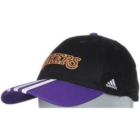 e780d9af2e3 Gorra Adidas Lakers Cap 3s X28565 Negra Morada Daa en Mercado Libre ...
