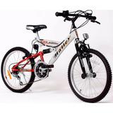 Bicicleta Mountain Bike 20 Halley 16335 Full Suspension 18v