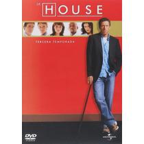Dr House Tercera Temporada 3 Tres Serie De Tv En Dvd En Dvd