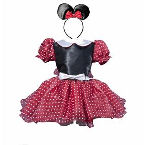 Minnie Mouse Vestido Disfraz