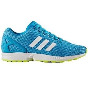 Tenis adidas Zx Flux Casuales 100%originales Azul