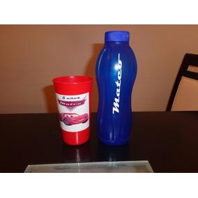 Botella Plastica Y Vaso Plastico Personalizado Souvenir