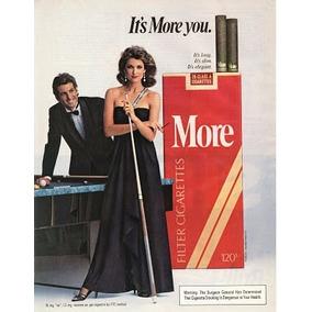 Cajetilla De Cigarros More Nueva Y Sellada Años 80,s