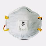 Máscara Respiradora P/ Poeira De Lixamento 8812 10 Unid - 3m