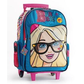 Mochila Barbie Grande Con Carro 16793 Envío Gratis!!