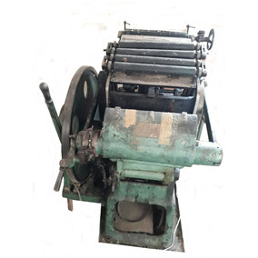 Impressora Antiga Manual Para Gráfica Formato 6