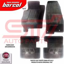 Tapete Borracha Punto E Linea Borcol 4t Original Fiat