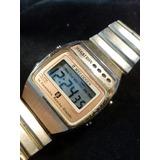 Reloj Digital Vintage Dorado De Los Años 80 Marca Megatron