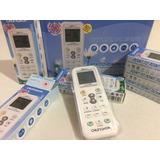 Control Remoto Minisplit, Daewoo, Lg, Panasonic, Carrier, Ge