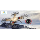 Drone Syma X8hc - Cámara Hd 2.0 Mp - 2.4 Ghz 6 Axis
