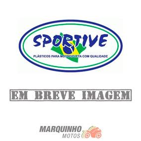Paralama Dianteiro Ybr 2004 Até 2008 Prata - Sportive