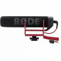Rode Video Microfone Go Shotgun Canon Nikon Sony Videomic