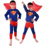 Fantasia Superman Super Homem Infantil - Promoção