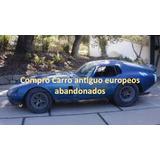 Carros Antiguos O Abandonado Europeos