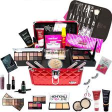 Maleta + Kit Maquiagem Completa Luisance Rubys + Brinde Bz15
