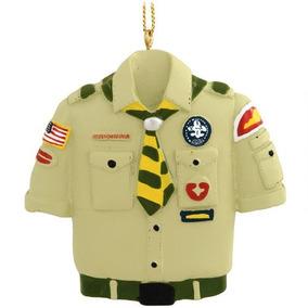 Ornamento De La Navidad Kurt Adler Boy Scout Tan Camisa
