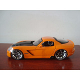 Mini Automovel Dodge Viper Srt10 Modelo 2008 Da Jada Toys