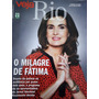 Revista Veja Rio Nº18 Fatima Bernardes - Cleo Pires