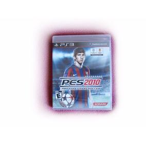 Jogo Playstation Ps3 Dvd Midia Física Futebol Pes 2010 Novo