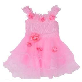 Vestido Importado Bautismo Casamiento Cortejo Fiesta P Nenas