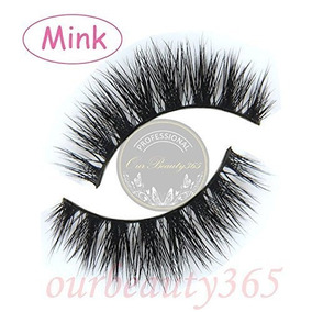 My-014 Luxurious 100% Real Mink 3d Natural Cross Thick Fals