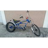 Bicicleta Chopper Semi Nova Artesanal Exclusiva Pouco Uso