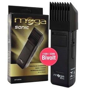 Máquina De Acabamento Barba E Bigode At389a Mega Sonic