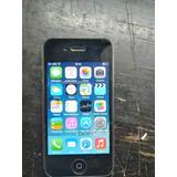 Iphone 4 Mc603e/a 16gb Negro Funcionando Detalle En Home