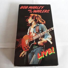 Fita Vhs Bob Marley And The Wailers Ao Vivo