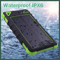 Cargador Solar Para Celular(waterproof,dustproof,shockproof)