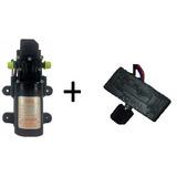 Bomba 12v/100psi Pulverizador Elétric + Regulador De Pressão