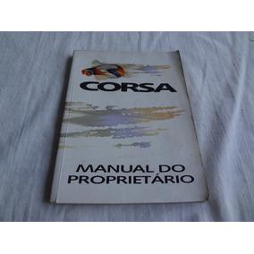 Manual Do Proprietario Corsa 94/95 Gl Wind Original Gm