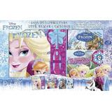 Frozen Lee, Mira Y Juega - Caja Con 3 Libros - Disney