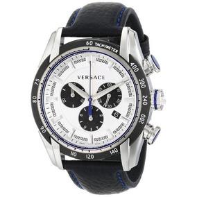 Reloj Versace Vdb V-ray De Acero Inoxidable Hombre Negro