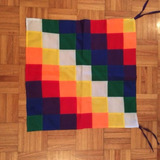 Banderas Wiphalas Pueblos Originarios 50cm Por 50cm
