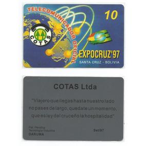 Cotas - Bolivia - Nº Co-27 Do Catalogo Internacional Mvcards