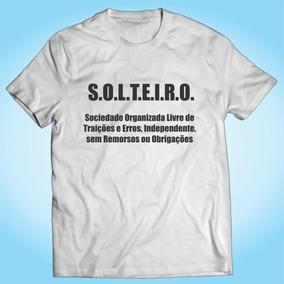 Camisa Solteiro - Paquera Engraçada Divertira Personalizada