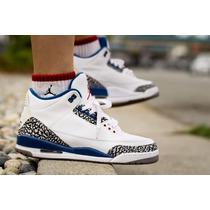 Zapatos Jordan Retro 3 Cocodrilo